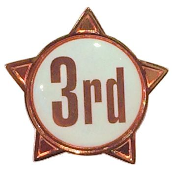 3rd titled star badge